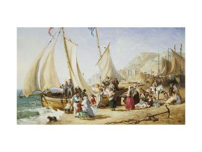 A Day Trip, Ramsgate-William Parrott-Giclee Print