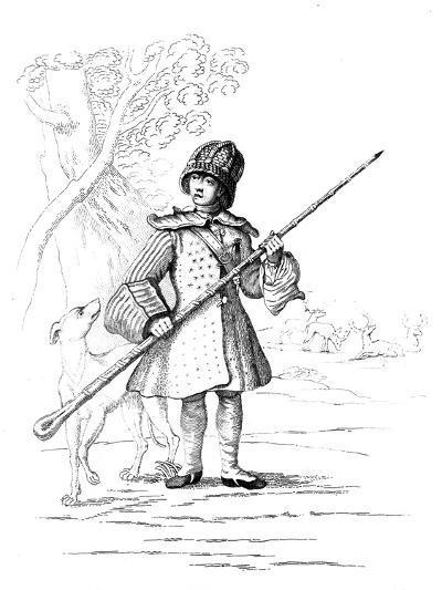 A Deer Hunter--Giclee Print
