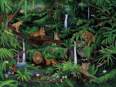 A Den of Lions-Betty Lou-Giclee Print