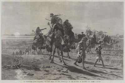 A Departure from Palmyra-Carl Haag-Giclee Print