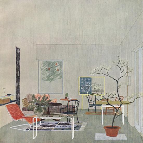 'A design for a Gartenraum by Georg Steinklammer of Vienna', 1935-Unknown-Photographic Print