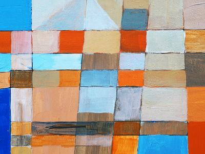 A Detail from an Abstract Painting-clivewa-Art Print