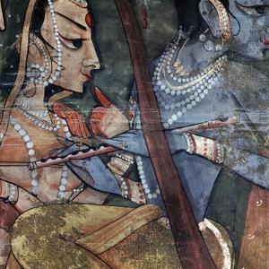 A Detail from One of the Legends of Krishna