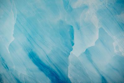 A Detail of Ice from the Monacobreen Glacier-Michael Melford-Photographic Print