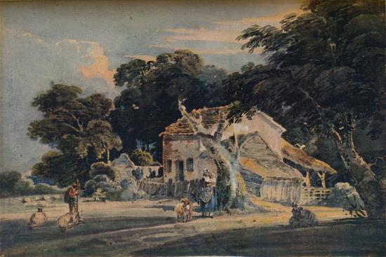 A Devonshire Farm, c1798, (1921)-Unknown-Giclee Print