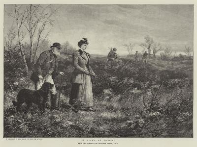 A Diana of To-Day-Heywood Hardy-Giclee Print