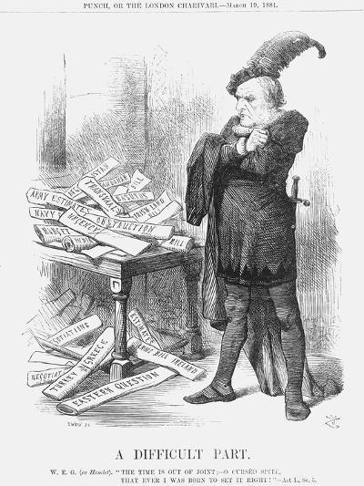 A Difficult Part, 1881-Joseph Swain-Giclee Print