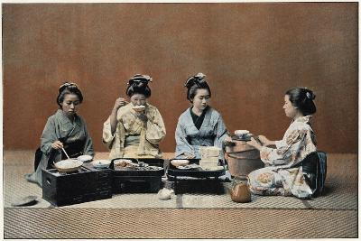 A Dining Room, C1890--Giclee Print