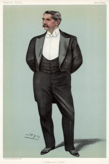 A Diplomatic Cousin' Henry White, American Diplomat, 1899-Spy-Giclee Print