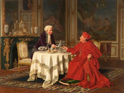 A Distinguished Guest, 1880s-Andrea Landini-Giclee Print