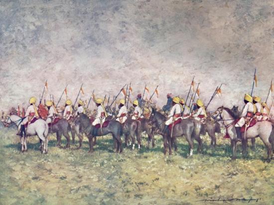 'A Distinguished Native Regiment', 1903-Mortimer L Menpes-Giclee Print