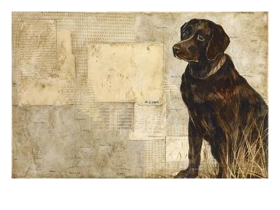 A Dog's Story 4-Elizabeth Hope-Premium Giclee Print