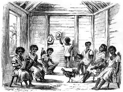 A Dominican School, Santo Domingo, 1873--Giclee Print