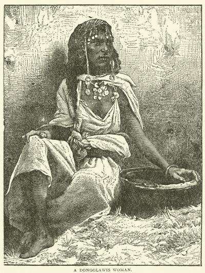 A Dongolawis Woman--Giclee Print