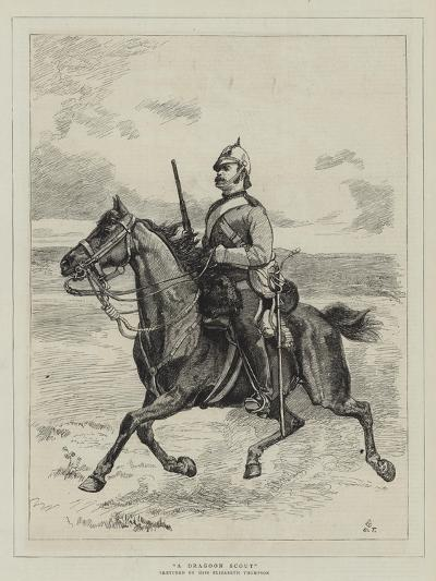 A Dragoon Scout--Giclee Print