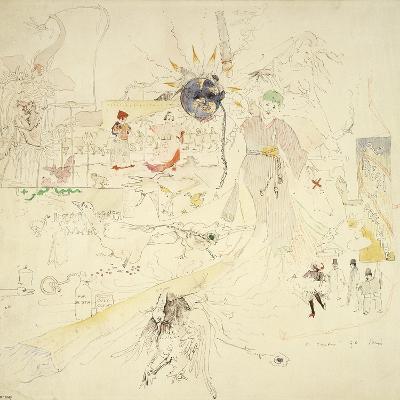 A Dream in Absinthe, 1890-Charles Edward Conder-Giclee Print