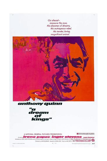 A Dream of Kings,  Anthony Quinn, 1969--Art Print