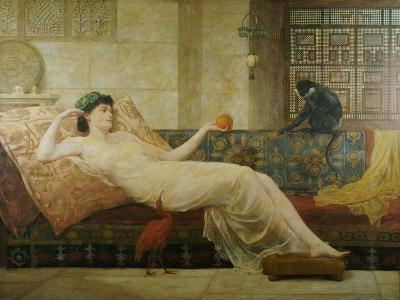 A Dream of Paradise, 1889-Frederick Goodall-Giclee Print