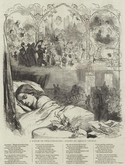 A Dream of Twelfth-Night-George Housman Thomas-Giclee Print