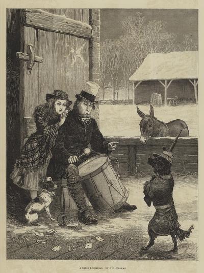A Dress Rehearsal-John Charles Dollman-Giclee Print