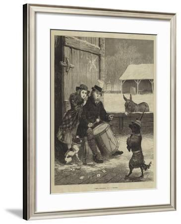 A Dress Rehearsal-John Charles Dollman-Framed Giclee Print