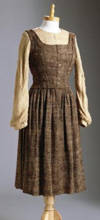 A Dress Worn by Julie Andrews as Maria for the 'Doe-A-Deer' Song Scene in the Sound of Music, 1965