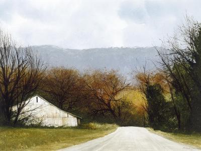 A Drive Through Fall-Miguel Dominguez-Premium Giclee Print