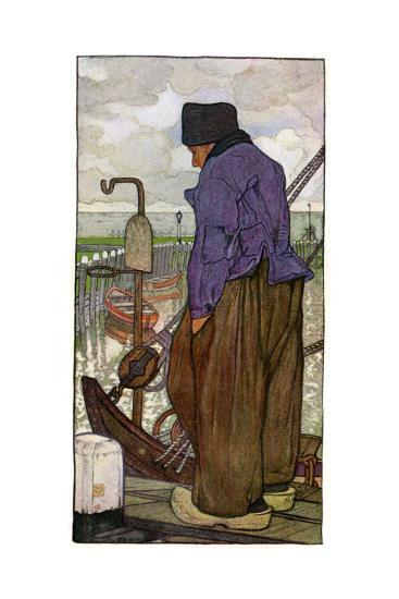 A Dutch Boatman, 1898-Nico Jungmann-Giclee Print