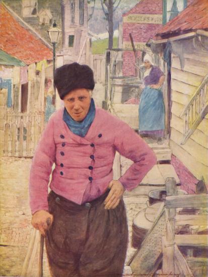 'A Dutch Fisherman', 1903-Mortimer L Menpes-Giclee Print