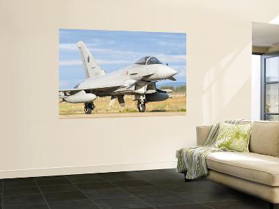 A Eurofighter 2000 Typhoon of the Italian Air Force-Stocktrek Images-Wall Mural