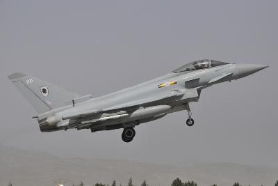 A Eurofighter Typhoon Fgr4 of the Royal Air Force Prepares for Landing-Stocktrek Images-Photographic Print