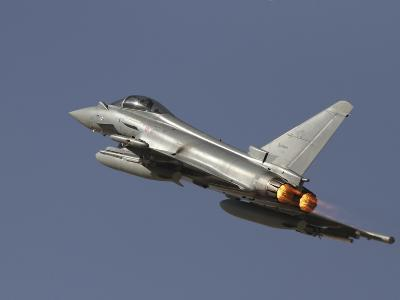 A Eurofighter Typhoon of the Italian Air Force Taking Off-Stocktrek Images-Photographic Print