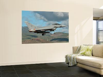 A Eurofighter Typhoon of the Spanish Air Force-Stocktrek Images-Wall Mural