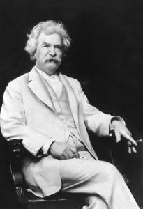 Mark Twain by A.f. Bradley