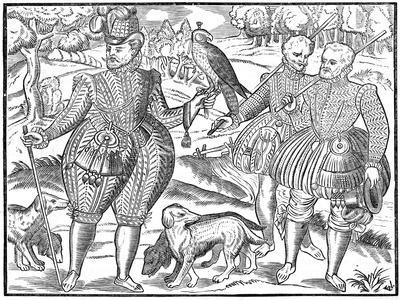 A Falconer, 1611--Giclee Print