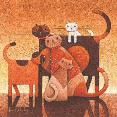 A Family Affair-Peter Adderley-Art Print