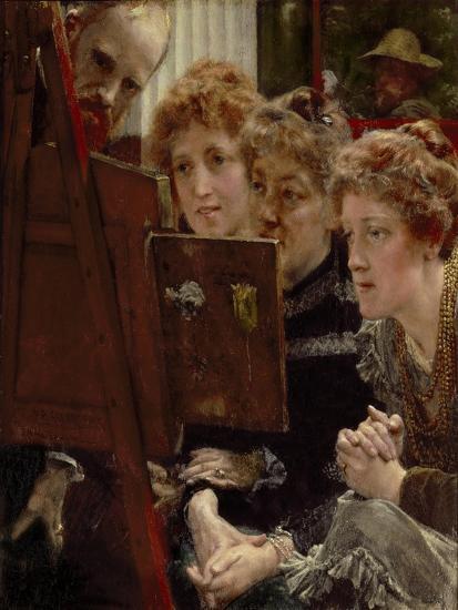 A Family Group, 1896-Sir Lawrence Alma-Tadema-Giclee Print