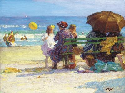 A Family Outing-Edward Henry Potthast-Giclee Print