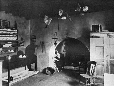 A Farm Kitchen, Orkney, Scotland, 1924-1926-Thomas Kent-Giclee Print
