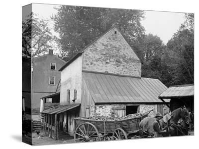 A Farm Yard, Germantown, Pa.
