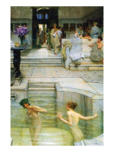 A Favorite Tradition-Sir Lawrence Alma-Tadema-Art Print