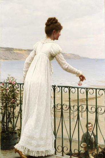 A Favour, 1898-Edmund Blair Leighton-Giclee Print