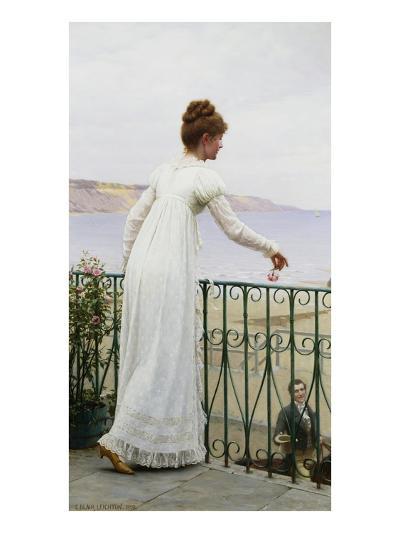 A Favour-Edmund Blair Leighton-Premium Giclee Print