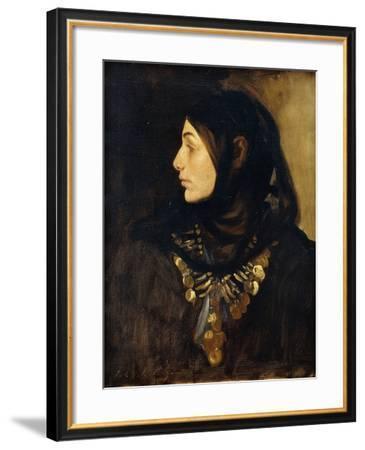 A Fellah Woman-John Singer Sargent-Framed Giclee Print
