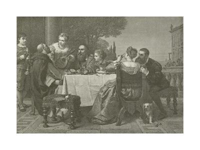A Fete at the House of Titian--Giclee Print