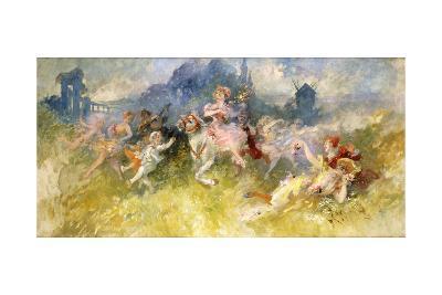 A Fete Champetre-Jules Ch?ret-Giclee Print