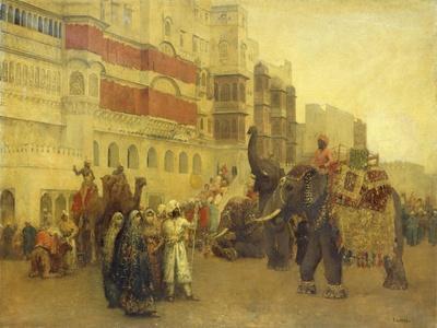 A Fete Day at Bekanir-Beloochistan, Bekanir-Edwin Lord Weeks-Giclee Print