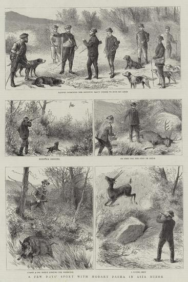 A Few Days' Sport with Hobart Pasha in Asia Minor--Giclee Print