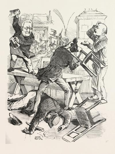 A Fight after a Glass of Beer--Giclee Print