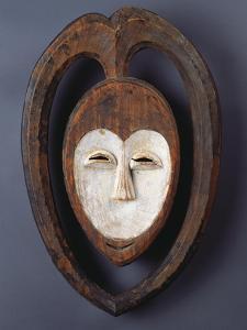 A Fine and Rare Kwele Mask